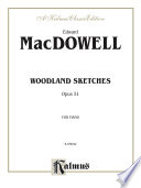 Woodland Sketches  Opus 51