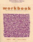 Ebook Workbook for Lectors and Gospel Readers 2007 USA Epub James L. Weaver Apps Read Mobile
