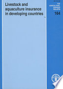 Livestock and Aquaculture Insurance in Developing Countries
