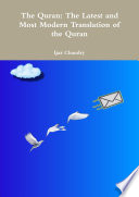 The Quran  The Latest and Most Modern Translation of the Quran