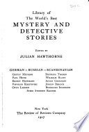 Mystery and Detective Stories