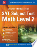 McGraw Hill Education SAT Subject Test Math Level 2  Fourth Edition