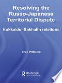 Resolving the Russo Japanese Territorial Dispute