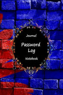Journal Password Logbook Notebook