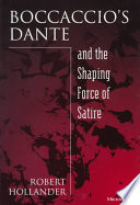 Boccaccio s Dante and the Shaping Force of Satire