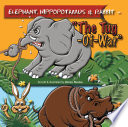 Elephant, Hippopotamus & Rabbit Owning A Picture Book Let