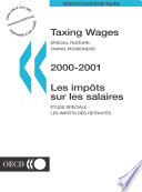 Taxing Wages 2001