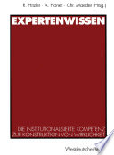 Expertenwissen