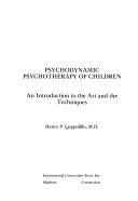 Psychodynamic Psychotherapy Of Children