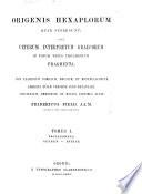 Prolegomena  Genesis Esther