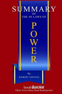 Summary Of The 48 Laws Of Power By Robert Greene Finish Entire Book In 15 Minutes book