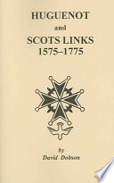 huguenot and scots links 1575 1775