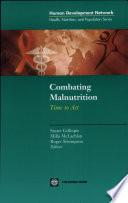 Combating Malnutrition