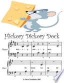 Hickory Dickory Dock - Beginner Tots Piano Sheet Music Free download PDF and Read online