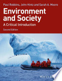 Environment And Society : introduction to the environment and society...