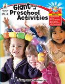 Giant Book of Preschool Activities, Grades PK - K Book