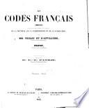 Les codes fran  ais annot  s offrant sous chaque article l   tat complet de la doctrine  de la jurisprudence et de la l  gislation par mm  Teulet et d Auvilliers et Sulpicy