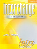 Interchange Intro 3rd Ed Student's Book