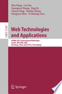 Web Technologies And Applications book