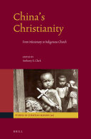China's Christianity