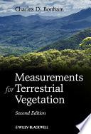 Measurements for Terrestrial Vegetation