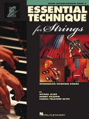 Book Essential Technique 2000 for Strings
