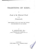 Traditions of Eden