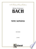 Nine Sonatas Johann Sebastian Bach And Was