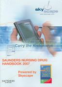 Saunders Nursing Drug Handbook 2007   CD ROM PDA Software Powered by Skyscape