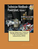 Aviation Maintenance Technician Handbook Powerplant Volume 1  by