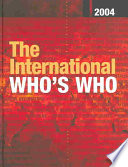 The International Who s Who 2004