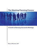 The Meeting Planning Process