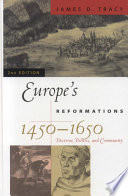 Europe s Reformations  1450   1650 Book PDF
