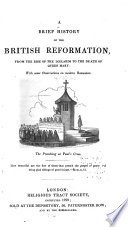 A Brief History of the British Reformation