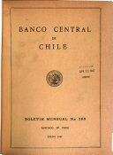 Boletín mensual- Banco Central de Chile