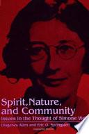 Spirit  Nature and Community