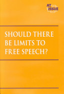 Should There be Limits to Free Speech