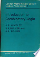 Introduction to Combinatory Logic