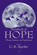 Handbook Of Hope book