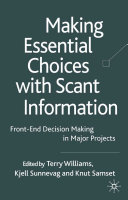 Making Essential Choices With Scant Information
