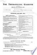 The Therapeutic Gazette
