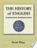 The History of English  A Linguistic Introduction