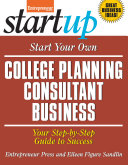 download ebook start your own college planning consultant business pdf epub