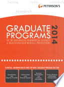 Graduate Programs in the Biological Biomedical Sciences   Health Related Medical Professions 2014  Grad 3