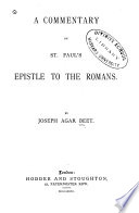 illustration A Commentary on St. Paul's Epistle to the Romans