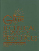 Guide to Technical Services Resources