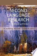 Second Language Research