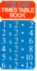 The Easy Times Table Book