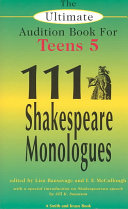 One Hundred and Eleven Shakespeare Monologues
