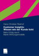Customer Insights: Wissen wie der Kunde tickt